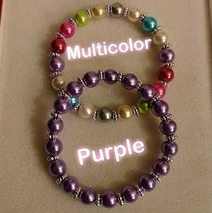 3 for $6❣️💯 Water pearl Bead Bracelet